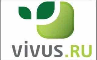 Vivus авторизация и использование Личного кабинета
