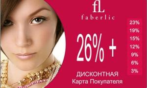 Faberlic — личный кабинет