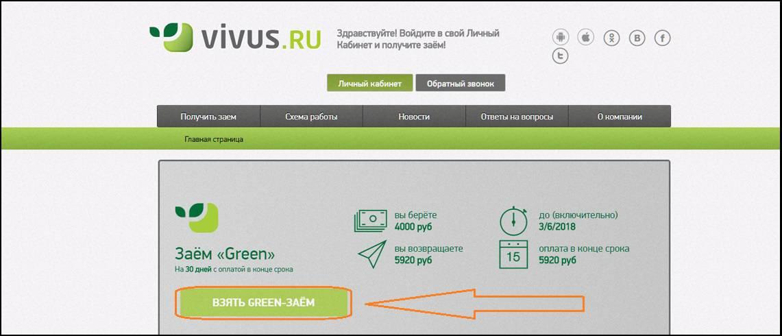 vivus официальный сайт